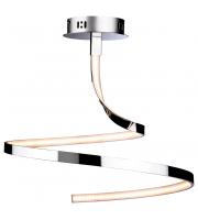 Firstlight Wave LED Semi Flush Ceiling Light (Chrome)