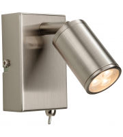 Firstlight Orion LED Wall Light (Brushed Steel)