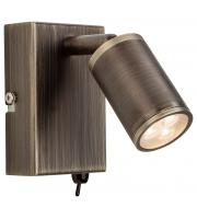 Firstlight Wave LED Semi Flush Ceiling Light (Bronze)