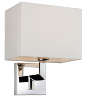 Firstlight Lex Single Wall Light (Polished Stainless)