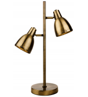 Firstlight Vogue Table Lamp (Antique Brass)