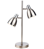 Firstlight Vogue Table Lamp (Brushed Steel)