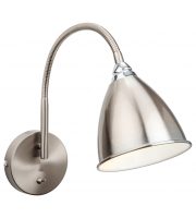 Firstlight Bari Wall Light (Brushed Steel)