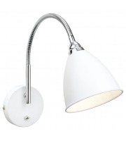 Firstlight Bari Wall Light (White/Chrome)
