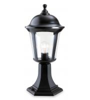 Firstlight Boston Outdoor Pillar Light (Black) SALE ITEM