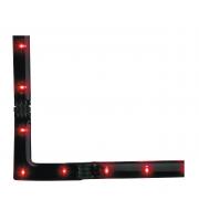 Firstlight 90 Degree L Connector LED Strip Light (Green)