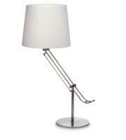 Firstlight Polo Table Lamp (Brushed Steel)