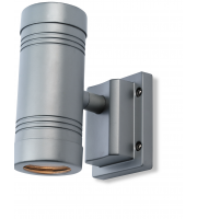 Firstlight Aero Twin Wall Light (Aluminium)