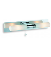 Firstlight Spa Twin Bathroom Wall Light (Chrome)