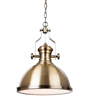 Firstlight Albion Ceiling Pendant (Antique Brass)
