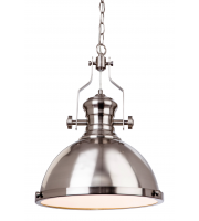 Firstlight Albion Ceiling Pendant (Brushed Steel)