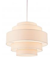 Firstlight Apollo Ceiling Pendant (Cream)