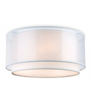 Firstlight Chicago Flush Ceiling Fitting (Cream)