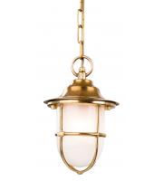 Firstlight Nautic Outdoor Porch Light (Brass)