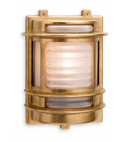 Firstlight Nautic Outdoor Wall Light (Brass)