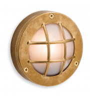 Firstlight Nautic Round Wall Light (Brass)