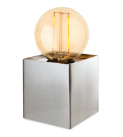 Firstlight Richmond Table Lamp (Brushed Steel)