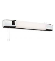 Firstlight Slimline Switched LED Shaver Light (Polished Chrome)