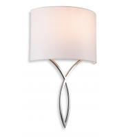 Firstlight Conrad Wall Light (Polished Chrome/Cream)