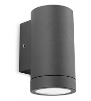 Firstlight Shelby Single LED Wall Light (Graphite)