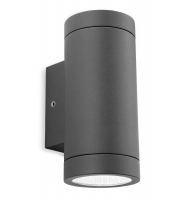 Firstlight Shelby Up/Down LED Wall Light (Graphite)