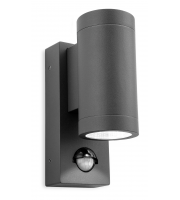 Firstlight Shelby Up/Down Wall Light with PIR (Graphite)