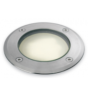Firstlight Low Energy Round Walkover Light (Stainless Steel)