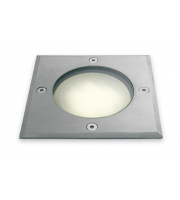 Firstlight Low Energy Square Walkover Light (Stainless Steel)