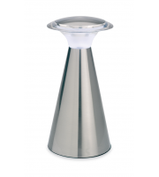 Firstlight Mushroom LED Table Lamp (Brushed Steel)