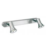 Firstlight Magnum Twin Spotlight Bar (Brushed Steel)