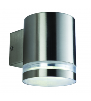 Firstlight Atlas Single Wall Light (Stainless Steel)