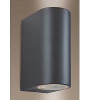 Firstlight Scenic Twin Wall Light (Gunmetal)