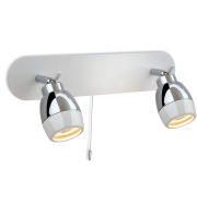 Firstlight Marine Twin Bathroom Spotlight (White)
