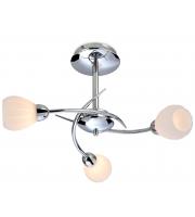 Firstlight Rena 3 Light Flush Ceiling Light (Chrome)