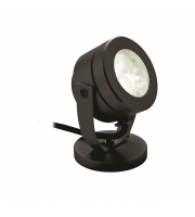 Firstlight Waterproof LED Wall/Spike Spotlight (Black)