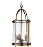 Firstlight Imperial 3 Light Round Lantern (Antique Brass)