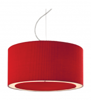 Firstlight Clio Ceiling Pendant (Red)