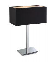 Firstlight Prince Table Lamp (Black)