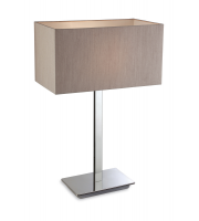Firstlight Prince Table Lamp (Polished Stainless)