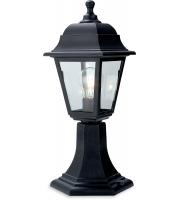 Firstlight Oslo Pillar Lantern (Black)