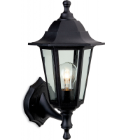Firstlight Malmo Outdoor Lantern (Black Resin)