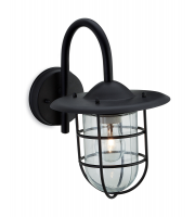 Firstlight Cage Wall Light (Black)