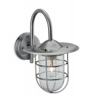 Firstlight Cage Wall Light (Stainless Steel)