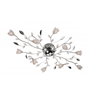 Firstlight Cindy 10 Light Flush Fitting (Chrome)