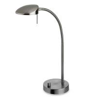 Firstlight Paris Table Lamp (Brushed Steel)