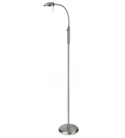Firstlight Paris Floor Lamp (Brushed Steel)
