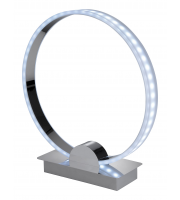Firstlight Ring Colour Chaning LED Table Lamp (Chrome)