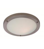 Firstlight Rondo Flush LED Ceiling Light (Brushed Steel)