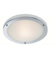 Firstlight Rondo Flush LED Ceiling Light (Chrome)