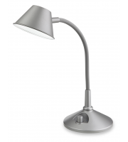 Firstlight Curlie LED Table Lamp (Silver)